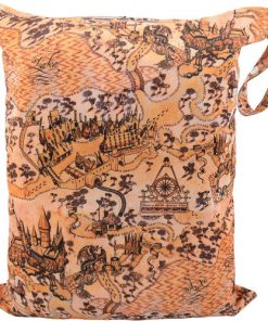 Marauders Map design Medium Wet Bag