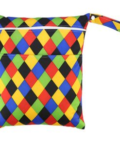 Checkered Colours Medium Wet Bag