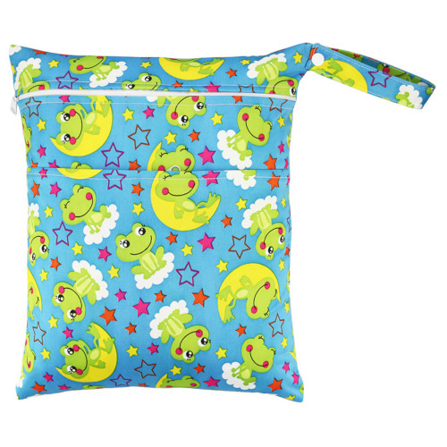 CCB036 - Night-time Frogs Medium Wet Bag