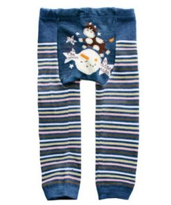 CCL010 - Blue Cow Jumped Over the Moon Baby Leggings