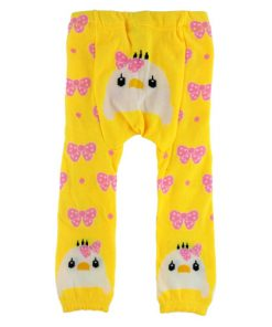 CCL013 - Yellow Bird Baby Leggings