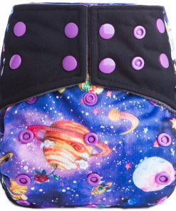 Colourful Cosmos design AI2 Nappy