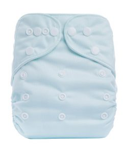 Plain Light Green Reusable Cloth Nappy