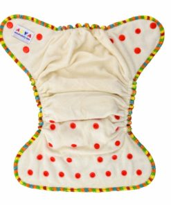CCN378 Bamboo Fitted Reusable Cloth Nappy