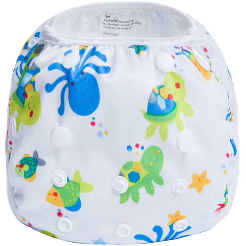 Sealife White Reusable Swim Nappy