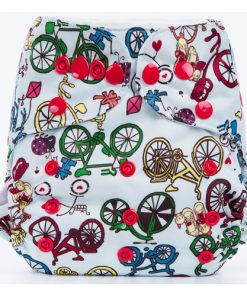 Bicycles Cloth Nappy Cover