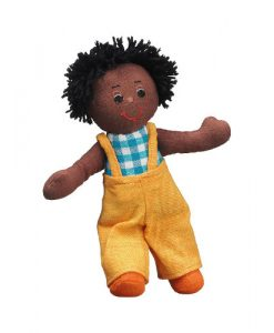 Ragdoll Boy (Black Skin Black Hair)