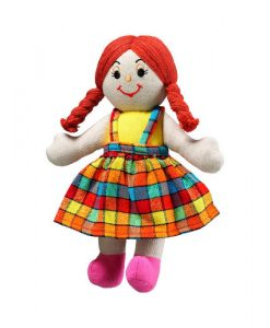 Ragdoll Girl (White Skin Red Hair)
