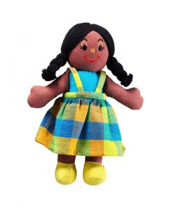 Ragdoll Girl (Black Skin Black Hair)
