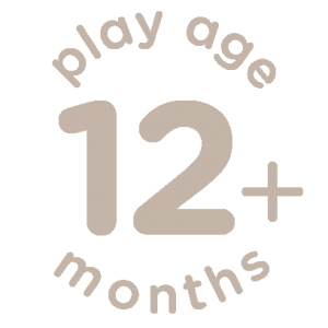 Suitable for 12+ months